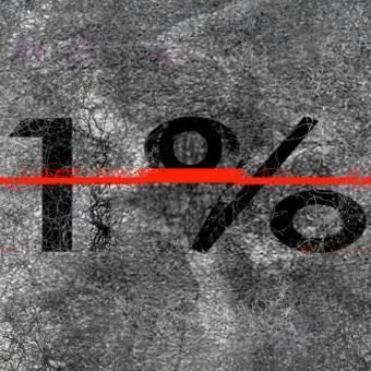 Les 1% possèdent 50% du monde