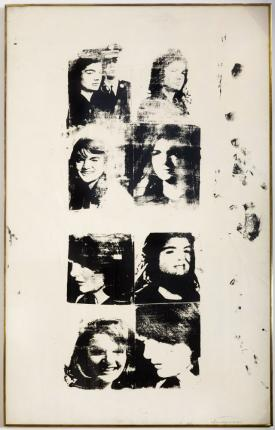 Andy Warhol, Studies of Jackie, 1964