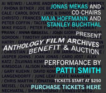 ANTHOLOGY FILM ARCHIVES BENEFIT AUCTION