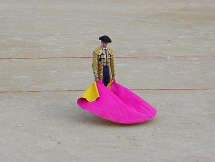 Corrida at the Corpus Christi festival in Granada