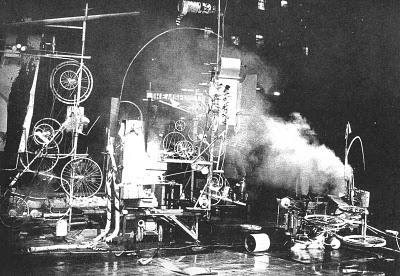 Jean Tinguely, «Homage to New York», 1960