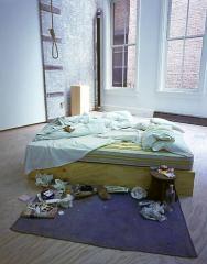 Tracey Emin, My Bed, 1998 (via www.artnet.com)