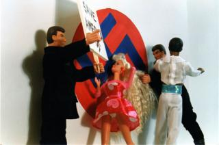 Barbie meets the Aryan Nation