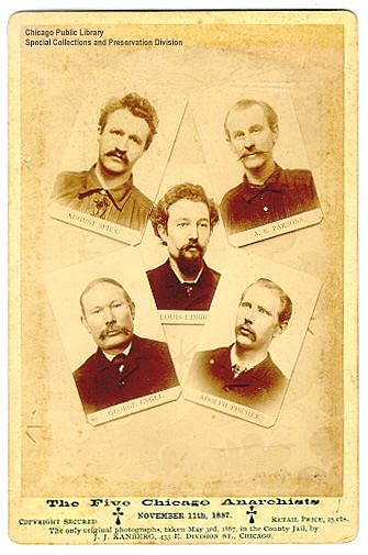 Five Chicago Anarchists