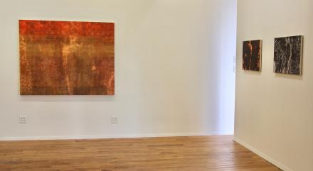 partial installation view Galerie Richard 121 Orchard Street NYC