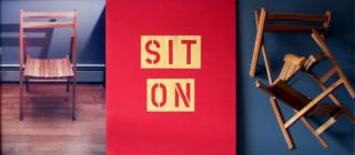 sit on